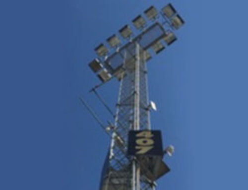 Aurizon Intermodal Depot Kerry Rd Lighting Tower Upgrade